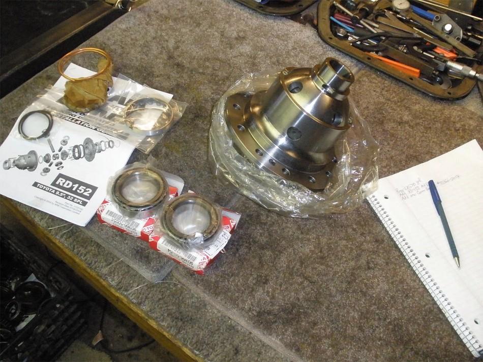 Lx570 Arb Rd152 Gear Install