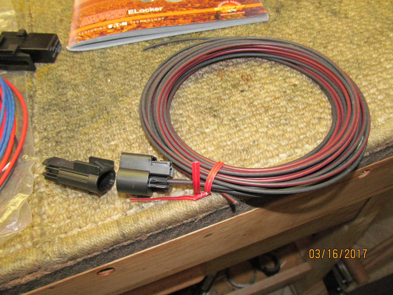 Gear Install Toyota Wire Harness Materials The Plug That Goes To Rear Harrop 2 Wires